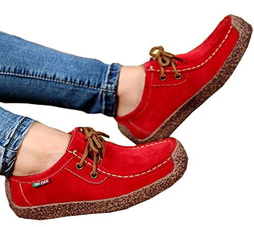 Woman Casual Footwear Lace Navy Comfortable Fashion Woman Wild blue Women Shoes Shoes up Warm Flats NEW 5BESwqp4