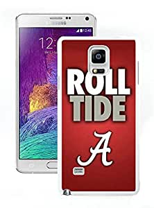 Alabama crimson this is Tide Nation 02 White Cool Photo Custom Samsung Galaxy Note 4 Phone Case
