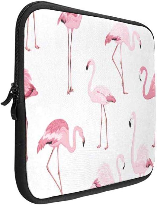 Pink Flamingo Birds Laptop Sleeve Case 15 15.6 Inch Briefcase Cover Protective Notebook Laptop Bag