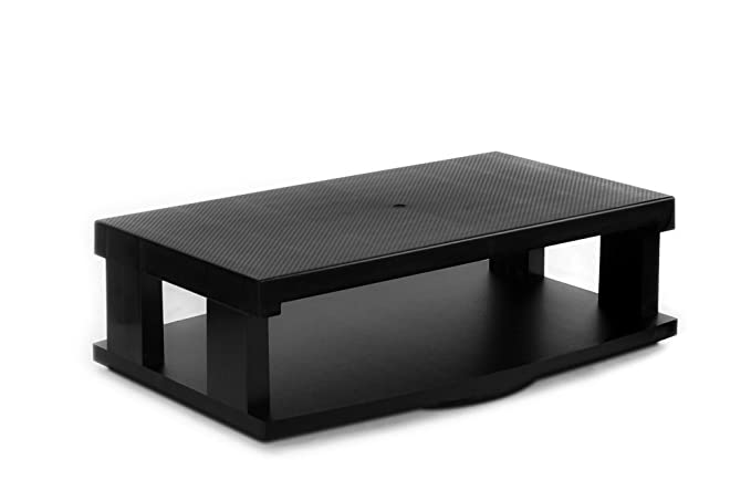 Aleratec Heavy Duty Flat LCD/LED TV Base giratoria 2-Tier Centro ...
