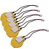 Set of 5 Pack CR2032/S7K 3V Laptop CMOS Battery for IBM Lenovo Thinkpad 570 570E 570X 570Z A20 A20P A20M A21 A21E A21M A21P A22 A22M A22P A23 A30 A30P A31P T20 T21 T22 T23 T30 T40 T41 T42 T43 R40 R40e R50 R50e R50p R51 R52 X30 X31 X32 300 400
