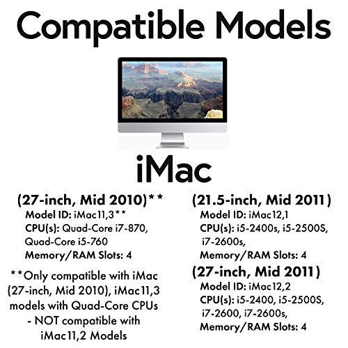 16GB 2X 8GB DDR3 RAM MEMORY FOR APPLE IMAC MODEL# IMAC11,2 IMAC11,3 A1311 A1312
