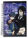 Great Eastern Entertainment Black Butler BOC Ciel & Sebastian Hardcover Notebook