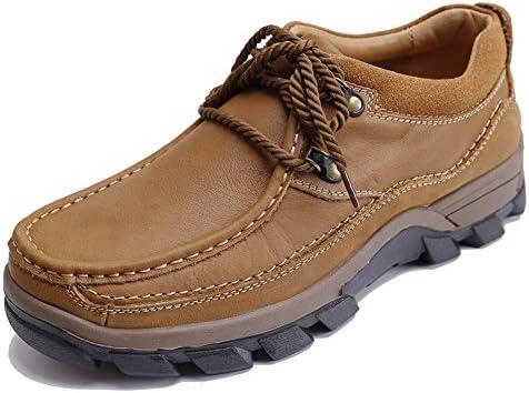 アウトドアシューズ メンズ 登山靴 レースアップシューズ MOTOUE メンズシューズ カジュアルシューズ ハイキングシューズ 滑りにくい スリ ッポン クッションインソール 靴 トレッキングシューズ 男性用 通気性 オシャレ抗菌 脱臭 ブーツ (26, ダークブラウン)