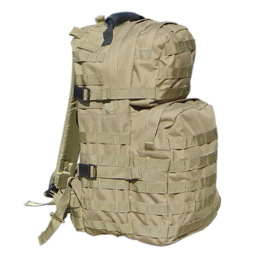 Condor Medium Assault Pack (Tan), Outdoor Stuffs