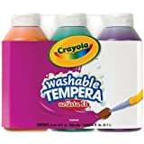 Crayola Artista Ii Washable Tempera Paint 8Oz 3/Pkg