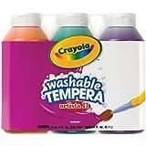 Crayola 3 Count 8-Ounce Artista II Washable Tempera Secondary Color Set