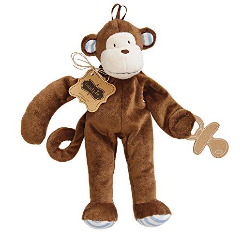 Mud Pie Pacifier Cuddler Monkey