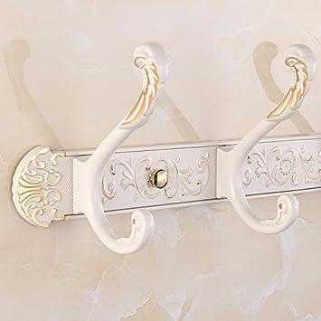 Cnmdgbwy Golden Weißer Haken Reihe Europäische Retro Kleiderhaken