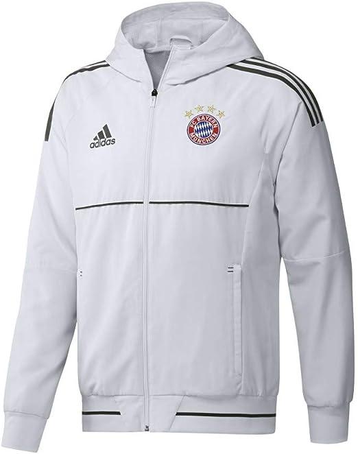 Adidas Fußball FCB FC Bayern München Herren Trainingsjacke