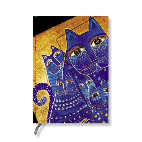 "Mediterranean Cats Hardcover Paper Pocket Sized - 4"" x 5...."