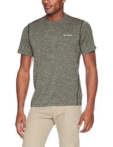 - Columbia Men's Deschutes Runner Short Sleeve Shirt, Black, X-Large