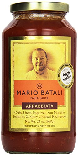 Mario Batali Pasta Sauce, Arrabbiata, 24 oz