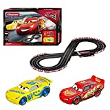 Carrera 25226 Evolution-Disney/Pixar Cars 3 Race Day Slot Car Set