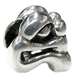 Sterling Silver Mother Baby Family European Style Bead Charm