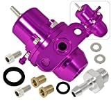 Honda Acura Sohc Dohc Vtec Bolton Adjustable 1:1 Fuel Pressure Regulator Unit Purple
