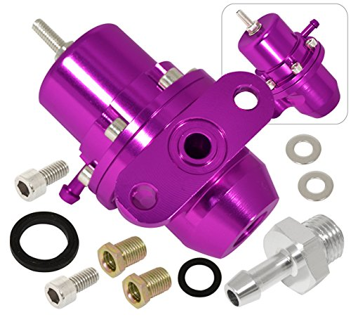 1995 Honda Civic Vtec - Honda Acura Sohc Dohc Vtec Bolton Adjustable 1:1 Fuel Pressure Regulator Unit Purple