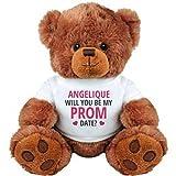 School Prom Date Proposal For Angelique: Medium Plush Teddy Bear