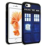 iPhone SE Case, DURARMOR® iPhone SE 5S [Lifetime Warranty] Doctor Who Tardis Police Box Dual Layer Hybrid ShockProof Ultra Slim Armor Air Cushion Bumper Drop Protection Case Cover for iPhone SE 5S 5