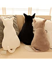 Homeofying Cute Cat Soft Plush Back Shadow Toy Sofa Pillow Seat Cushion Birthday Gift For Boys or Girls Room
