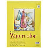 Pro-Art Strathmore 11-Inch by 15-Inch Watercolor Cold Press Paper Pad, 12-Sheet
