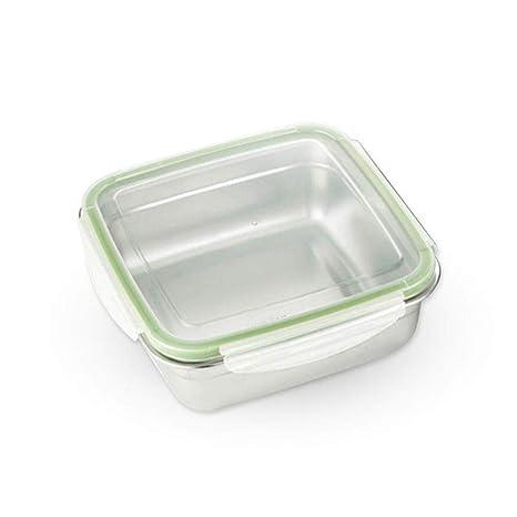 AOLVO - Fiambrera de Acero Inoxidable para Alimentos con Capacidad para 304 Cuencos, con Tapa hermética, contenedores de Alimentos de Grado ...
