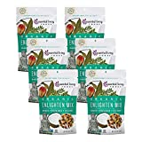Essential Living Foods Essential Living Foods Organic Enlighten Trail Mix 6oz, 6 Pack - Tropical Super Fruit and Nut - Vegan, Non-GMO, Gluten Free, Resealable Bags, 6 Ounce -  Keen-Wah(Grocery)
