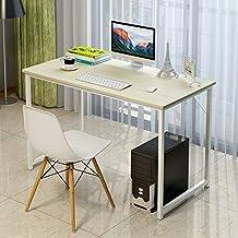 """Soges Computer Desk 47"""" PC Desk Office Desk Workstation for Home Office Use Writing Table, Beige JJ-FCA"""