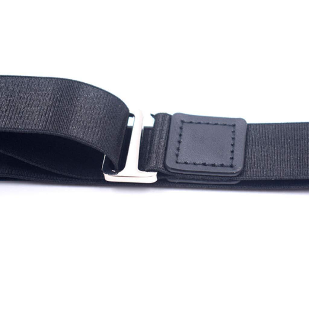 Personale Governativo Fahooj Camicia da Uomo Cintura Cintura Uomo Antirughe Mantieni I Vestiti in Ordine Adatto per Impiegati a