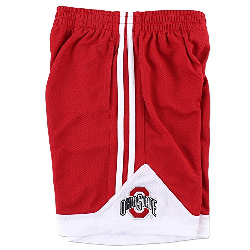 Ohio State Buckeyes Youth Basketball Shorts Red - L