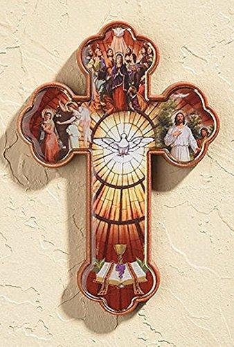 - Catholic Confirmation Acrylic Wall Cross, 4 1/2 Inch