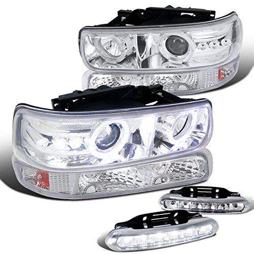 Silverado Projector Headlights Bumper Strips