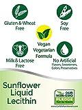 Sunflower Lecithin Liquid 16 oz Oil | 2 Pack