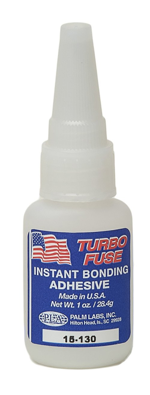 Turbo Fuse 15-130 General Purpose 100cp Cyanoacrylate Adhesive - Equivalent to Loctite 498. 1oz bottles - Case of 25