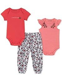 Calvin Klein - Conjunto de 3 Pantalones de chándal para bebé