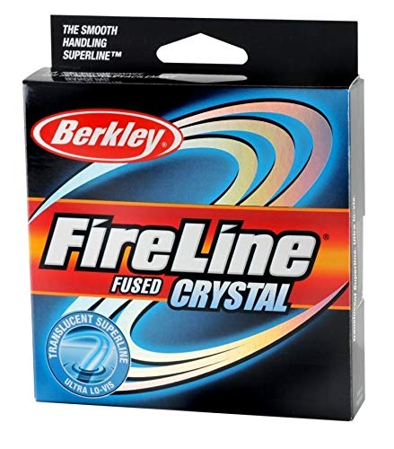 Berkley Fireline Fused Crystal Superline 300 Yd Spool(8/3-Pound,Crystal)