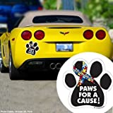 Show Your Support of Autisim Awareness - Paws For A