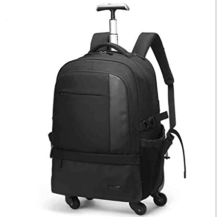 77447f9dd4e7 Amazon.com: Compact Rolling Backpack, Wheeled Laptop Backpack, Great ...