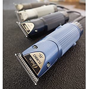 Oster Professional Turbo A5 2-Speed Heavy Duty Detachable Blade Animal Clipper with #10 Blade 078005-314-003