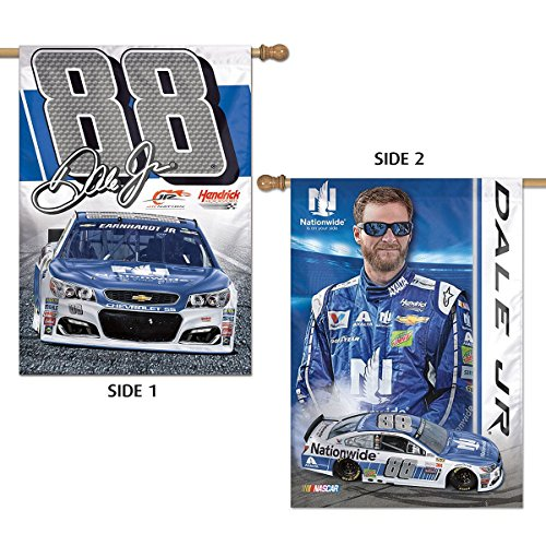 - WinCraft Dale Earnhardt Jr. #88 Double Sided Banner Flag