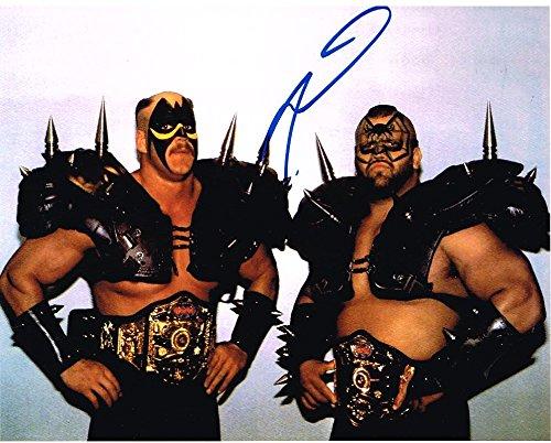 Wwe Memorabilia - WWE WWF NWA ROAD WARRIOR ANIMAL LEGION OF DOOM AUTOGRAPHED 8X10 PHOTO AUTOGRAPH