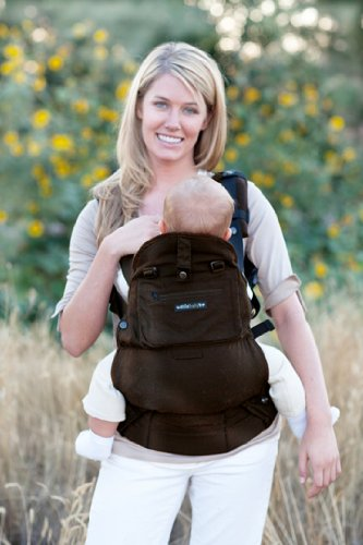 d5ab9c2cab4 Amazon.com   Lillebaby 5 Position Everywear Baby Carrier - Organic - Earth  Brown   Camping Child Carriers   Baby