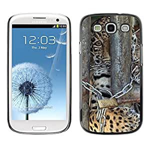 Hot Style Cell Phone PC Hard Case Cover // M00112506 Jaguar Strings Prison Feline Cage // Samsung Galaxy S3 S III SIII i9300