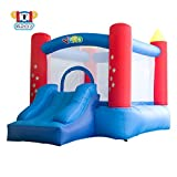 YARD Party Event Games Kids Bounce House Home Activities Children Inflatable Bouncy Castle with Slide Include Blower (9.5'x6.5'x6.5')