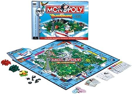 Amazon.es: Hasbro 52479100 Monopoly DVD Trauminsel - Juego de Mesa con DVD, de 2 a 4 Jugadores (edición Alemana) [Importado de Alemania]