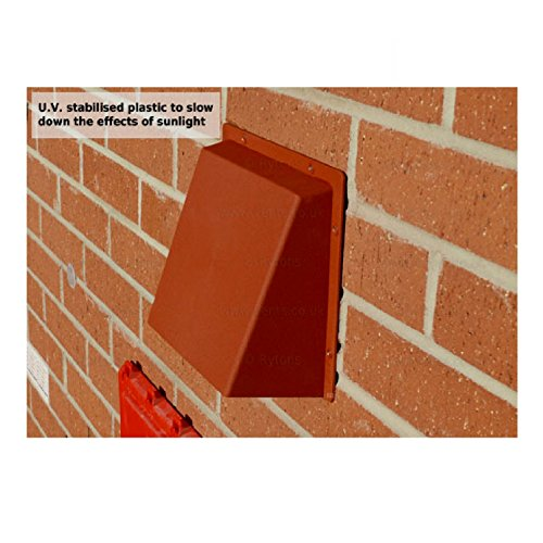 9 Quot X 9 Quot White Hooded Cowl Vent Cover For Air Bricks