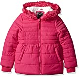 Product review for Ok Kids! Girls' Quilted Jacket with Faux Fur Trim on Hood