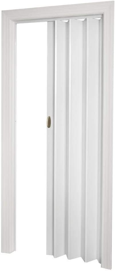 LTL Home Products HSECHO3280WH Spectrum Echo Interior Folding Accordion Door, 36 x 80 Inches, White