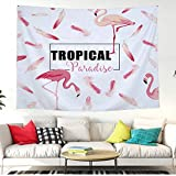 Mandala - 1pc Flamingo Dreamcatcher Tapestry Wall Tapestries Living Room Bedroom Hanging Carpet Table Cloth - Trivia Puzzles Horn Tapestry Radio Action Accessories Español Picture Queen Figures