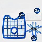 Philips Robot aspirador FC8068/01, Polyester, Azul, Blanco: Amazon.es: Hogar